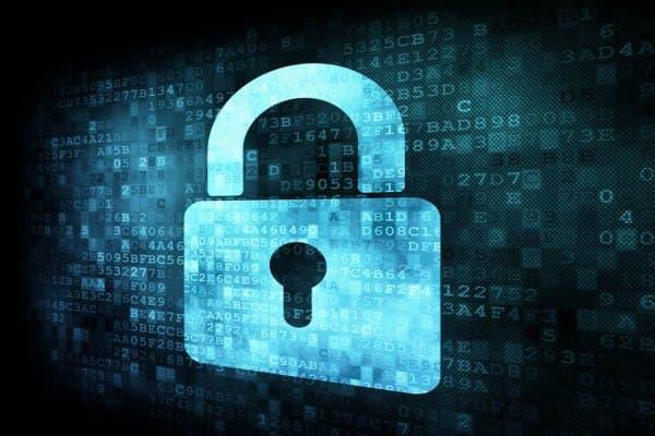 전자 문서보안 자물쇠 이미지